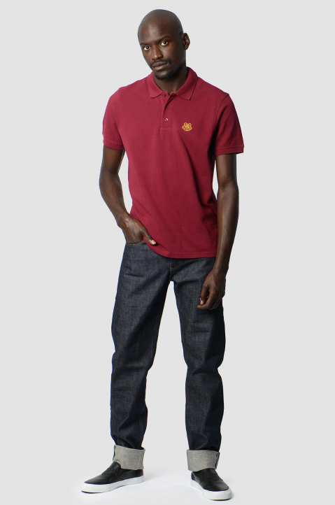 KENZO Fitted Cherry Tiger Polo-Shirt 3