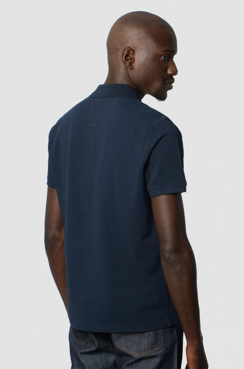 KENZO Fittet Navy Tiger Polo-Shirt  1