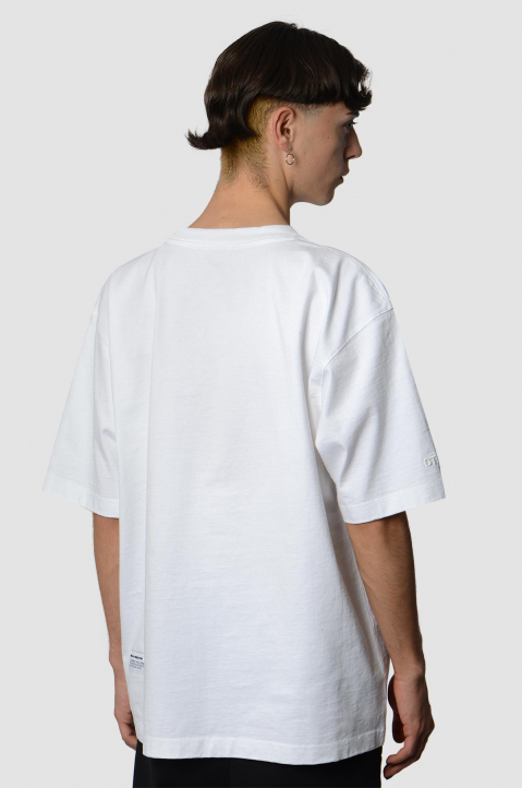 HERON PRESTON Herons Embroidery White Tee 1