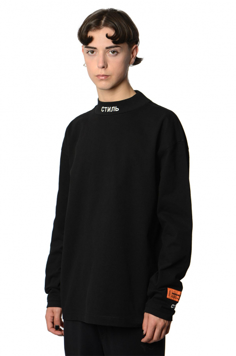 HERON PRESTON CTNMB Black Sweatshirt 0