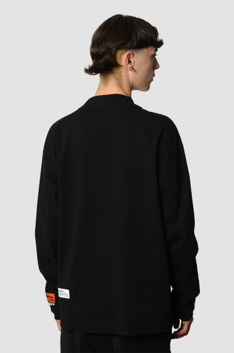HERON PRESTON CTNMB Black Sweatshirt 1