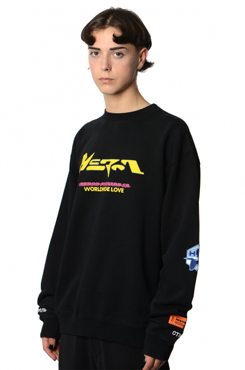 HERON PRESTON HP CO. Black Sweatshirt  0