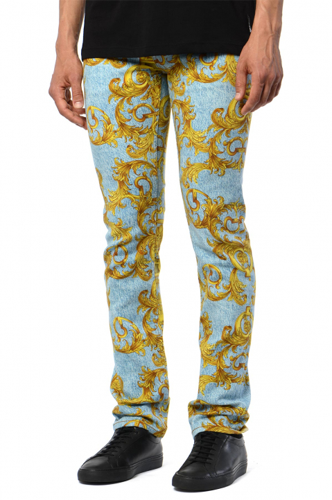 VERSACE JEANS COUTURE Slim Milano Barocco Jeans 0