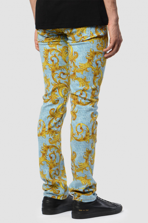 VERSACE JEANS COUTURE Slim Milano Barocco Jeans 1