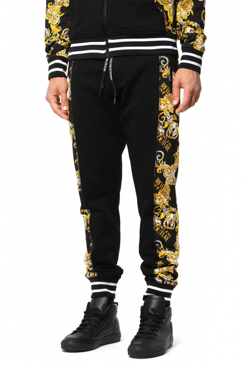 VERSACE JEANS COUTURE Barocco Black Joggers 0