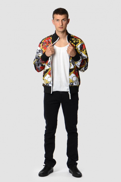 VERSACE JEANS COUTURE Barocco Tecno Jacket 2