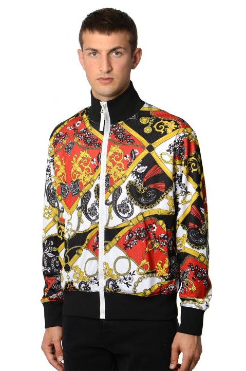 VERSACE JEANS COUTURE Barocco Tecno Jacket 0