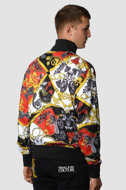 VERSACE JEANS COUTURE Barocco Tecno Jacket 1