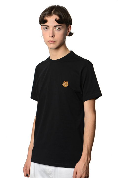 KENZO Patch Tiger Black Tee 0