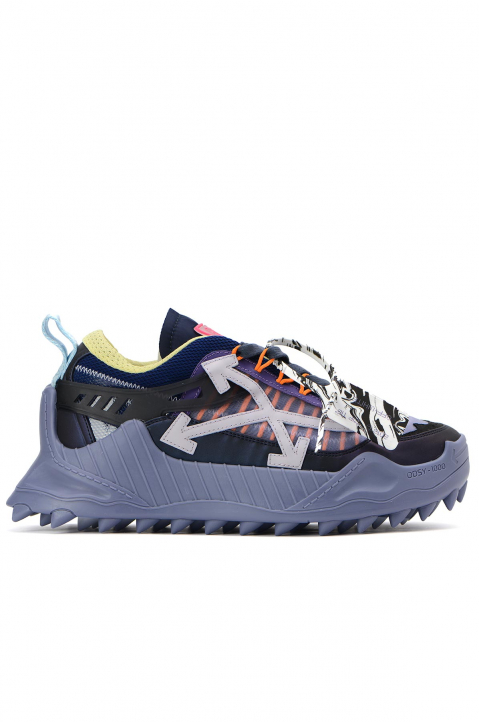 OFF-WHITE Violet Odsy Low-top Sneakers 0