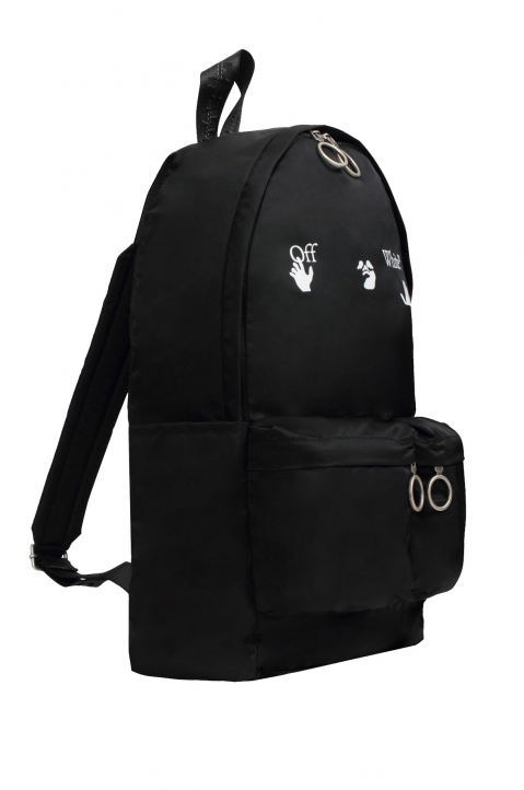 OFF-WHITE Hands Logo Backpack  1
