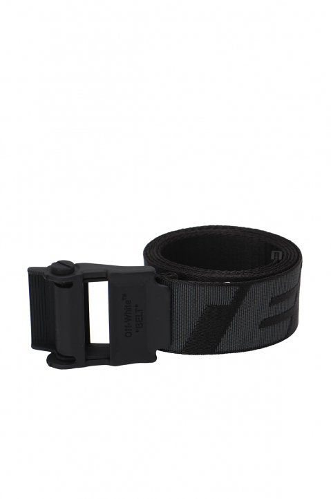 OFF-WHITE 2.0 Black Industrial Belt 0