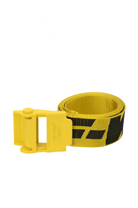 OFF-WHITE 2.0 Yellow Industrial Short Belt  0