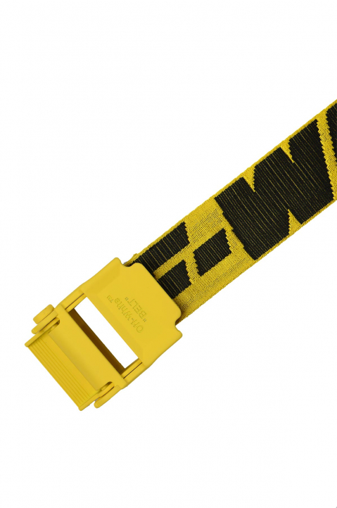 OFF-WHITE 2.0 Yellow Industrial Short Belt  1