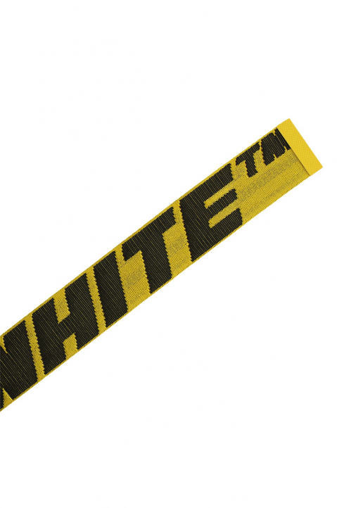 OFF-WHITE 2.0 Yellow Industrial Short Belt  2