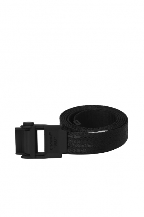 OFF-WHITE 2.0 Mini Black Industrial Short Belt 0