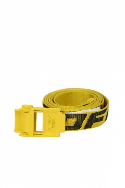 OFF-WHITE 2.0 Mini Yellow Industrial Short Belt 0