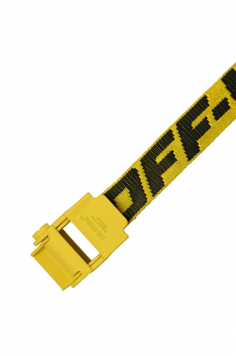 OFF-WHITE 2.0 Mini Yellow Industrial Short Belt 1