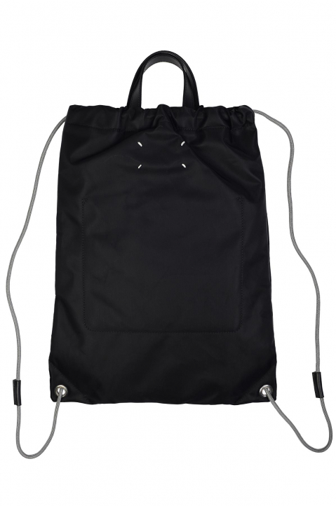 MAISON MARGIELA Drawcord Logo Bag 1