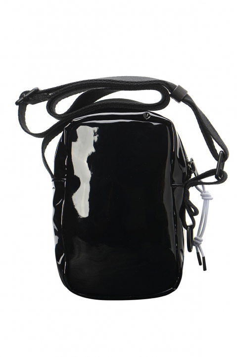 MAISON MARGIELA Black PU Crossbody Bag 1