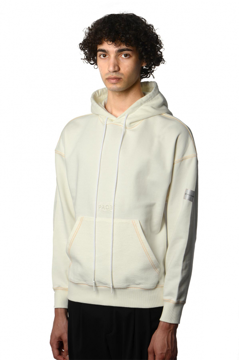 PACE X ROCHE MUSIQUE White Hoodie 0