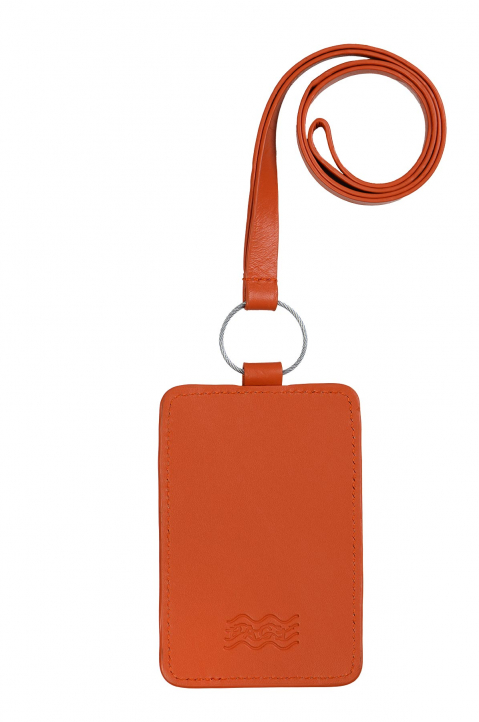 PACE X ROCHE MUSIQUE Orange Card Holder 0