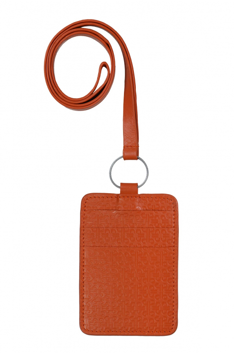 PACE X ROCHE MUSIQUE Orange Card Holder 1