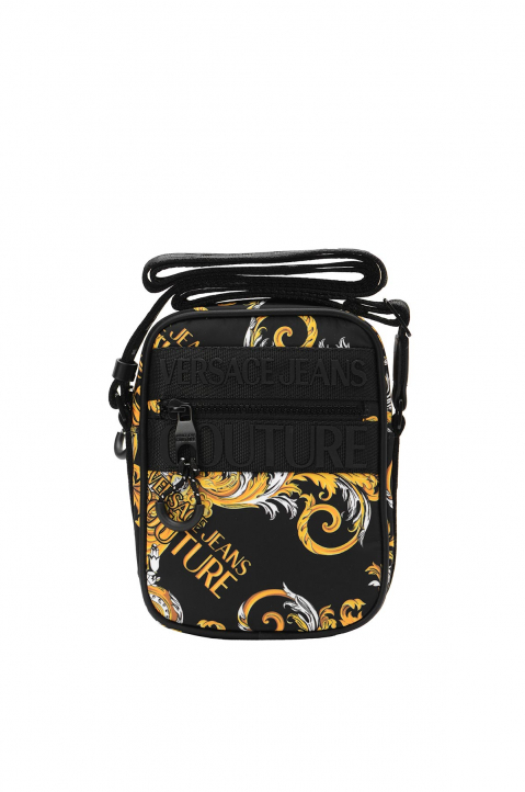 VERSACE JEANS COUTURE Saffiano Print Crossbody Bag 0