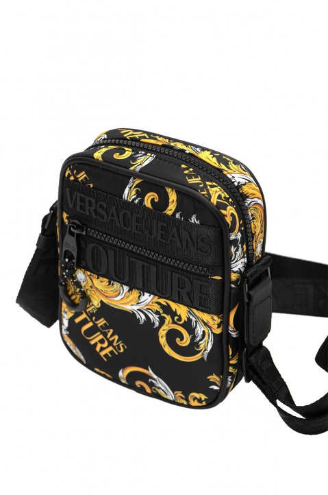 VERSACE JEANS COUTURE Saffiano Print Crossbody Bag 1