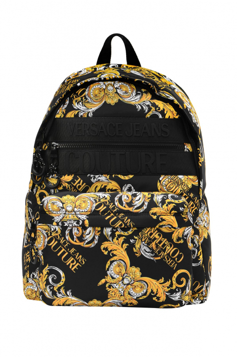 VERSACE JEANS COUTURE Saffiano Print Backpack 0