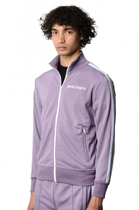 PALM ANGELS Lilac Classic Track Jacket  0