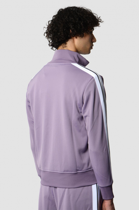 PALM ANGELS Lilac Classic Track Jacket  1