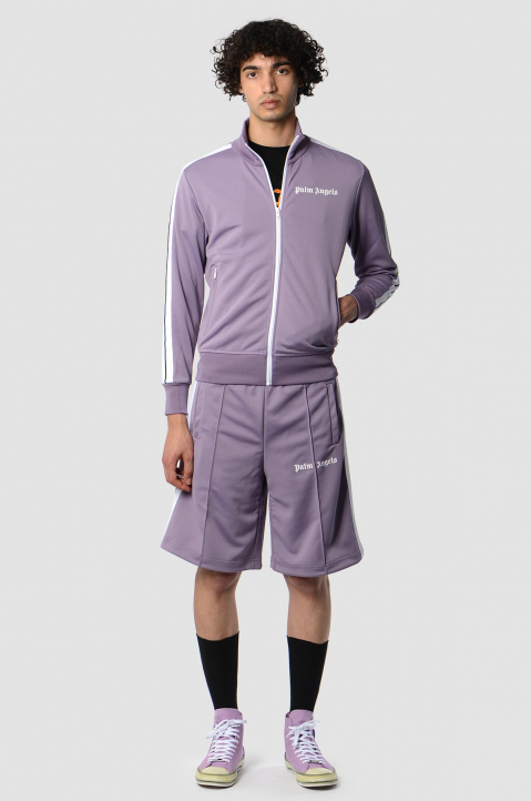 PALM ANGELS Lilac Classic Track Jacket  3