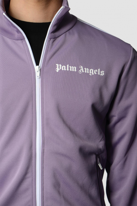 PALM ANGELS Lilac Classic Track Jacket  2