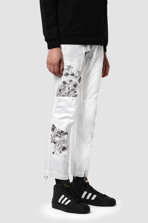 WW X GREEN CIRCLE Dries Van Noten Trousers 1 1