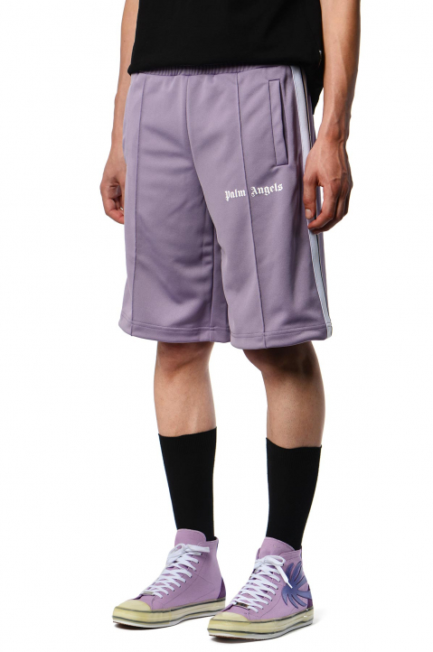 PALM ANGELS Lilac Trackshorts 0