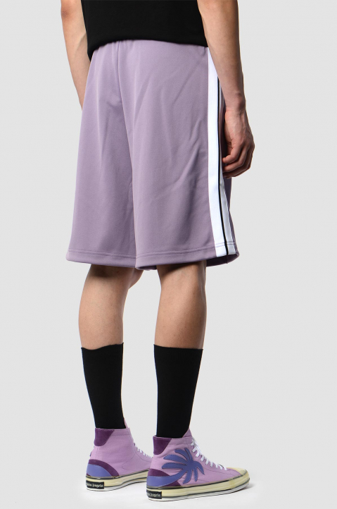 PALM ANGELS Lilac Trackshorts 1