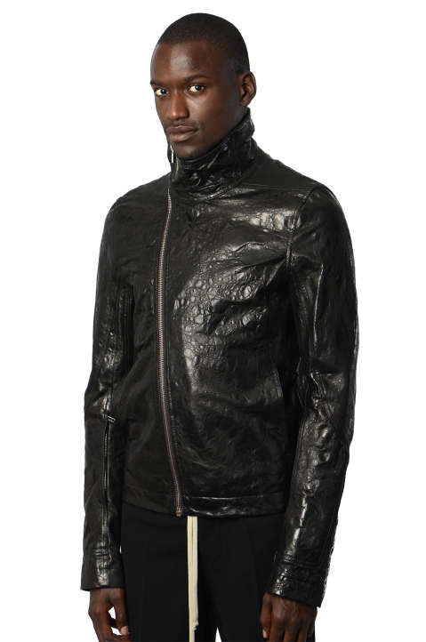 RICK OWENS Perfoma Leather Jacket 0