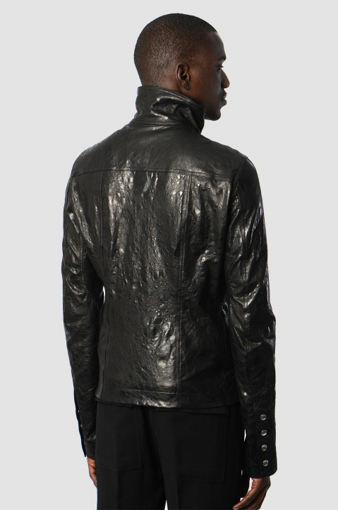 RICK OWENS Perfoma Leather Jacket 1