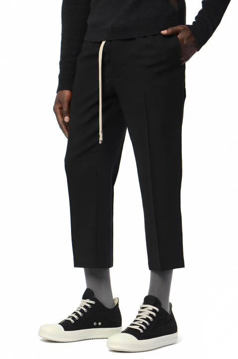 RICK OWENS Slim Cropped Astaires Trousers 0