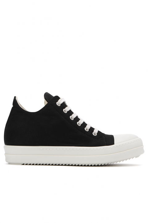 DRKSHDW Black Low Top Sneakers  0