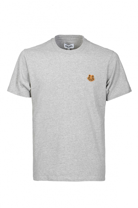 KENZO Tiger Patch Grey Tee 0