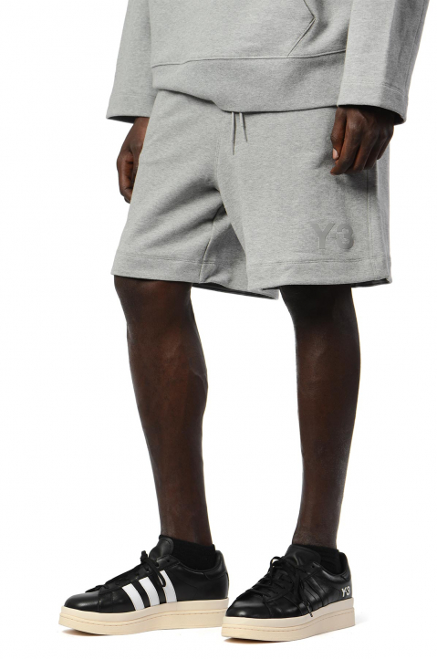 Y-3 Relaxed Grey Shorts 0