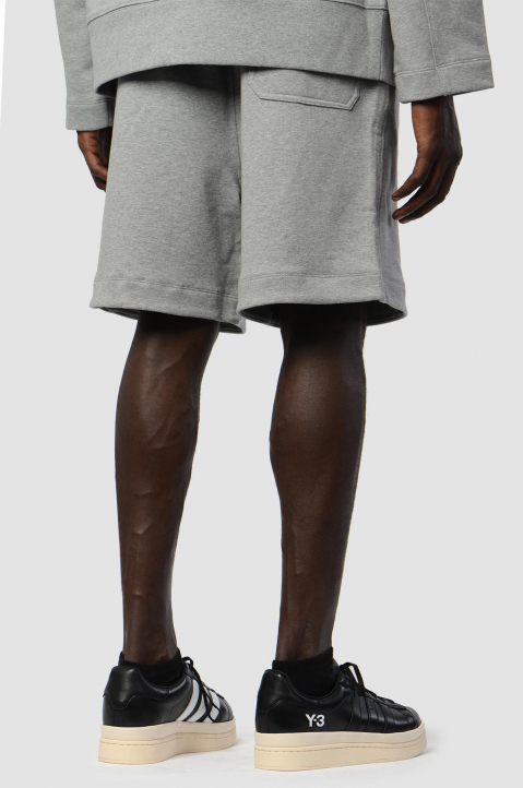 Y-3 Relaxed Grey Shorts 1