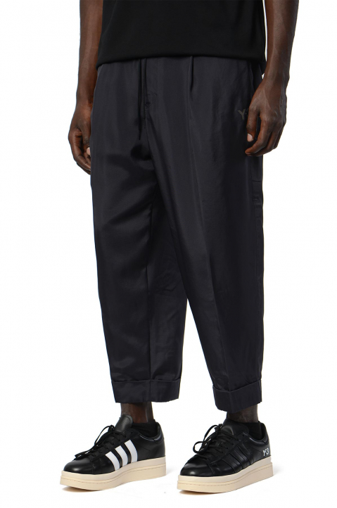 Y-3 Recycled Black Trackpants 0