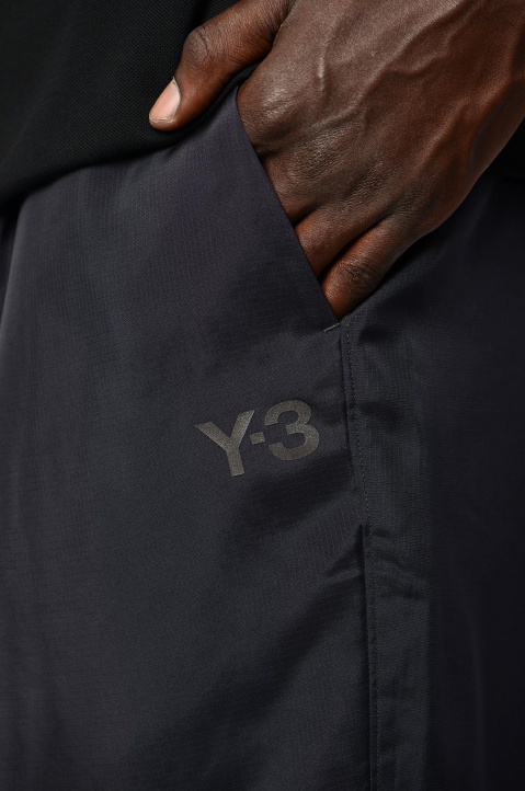 Y-3 Recycled Black Trackpants 2