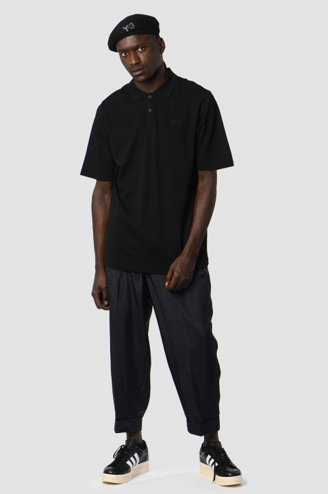 Y-3 Recycled Black Trackpants 3