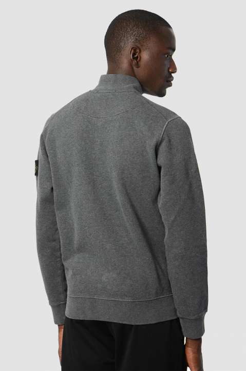 STONE ISLAND Fleece Grey Jacket  1