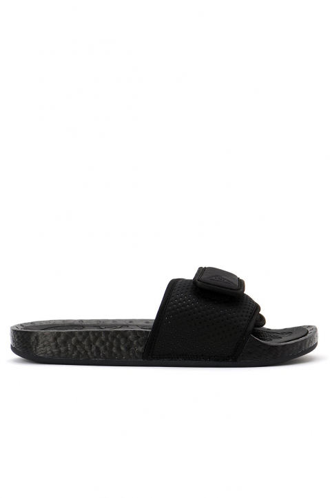 ADIDAS X PHARRELL WILLIAMS Black Boost Slides 0