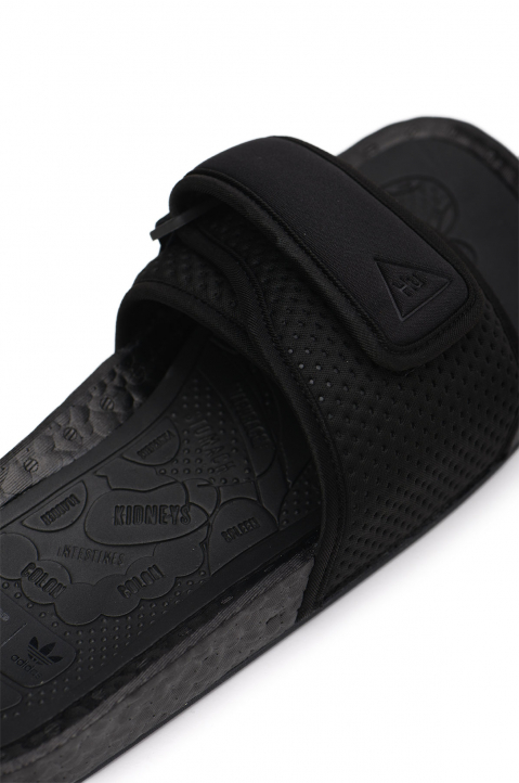 ADIDAS X PHARRELL WILLIAMS Black Boost Slides 2